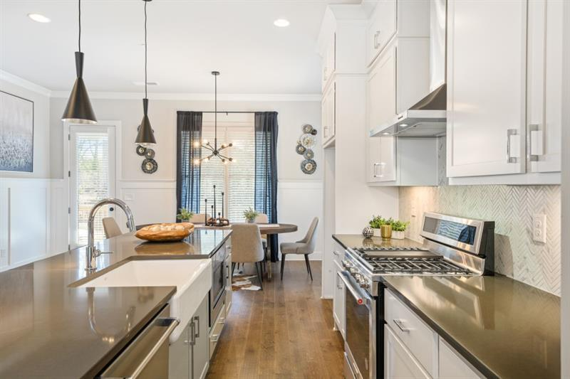 Kitchen featured in The Magnolia By Waters Edge Group in Atlanta, GA