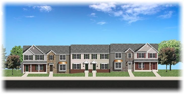 Aster & Poppy Townhome models