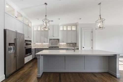 Kitchen-in-The Pinnacle-at-Mountain Walk Townhomes-in-Marietta