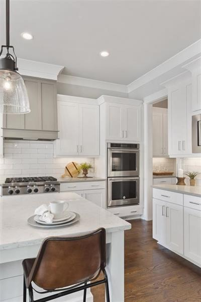 Kitchen-in-The Belmont-at-Hembree Circa 1835-in-Roswell