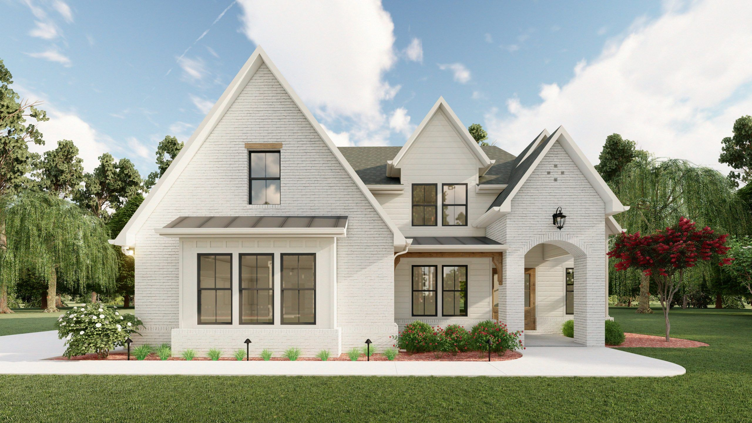 Exterior featured in The Grace By David Patterson Homes in Atlanta, GA