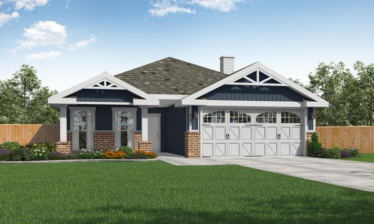 Bethany exterior:Craftsman style home