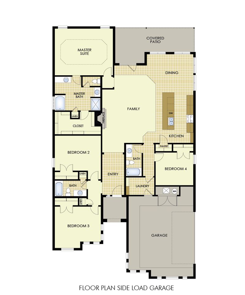 Shannon Home Plan by Betenbough Homes in Quincy Park