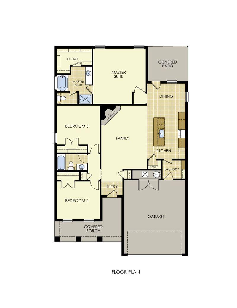 Rosa Floor Plan