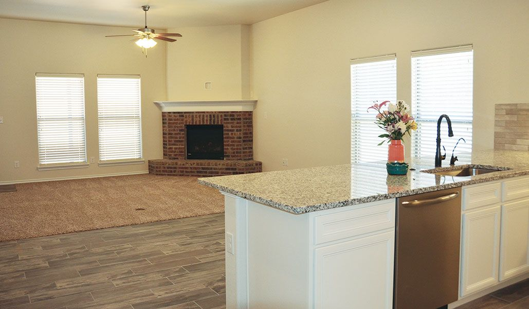 Kitchen featured in the Carmi By Betenbough Homes in Lubbock, TX