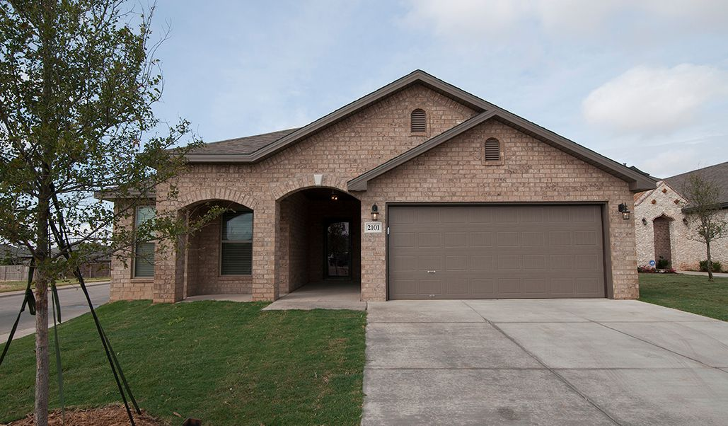 Exterior featured in the Angie By Betenbough Homes in Lubbock, TX