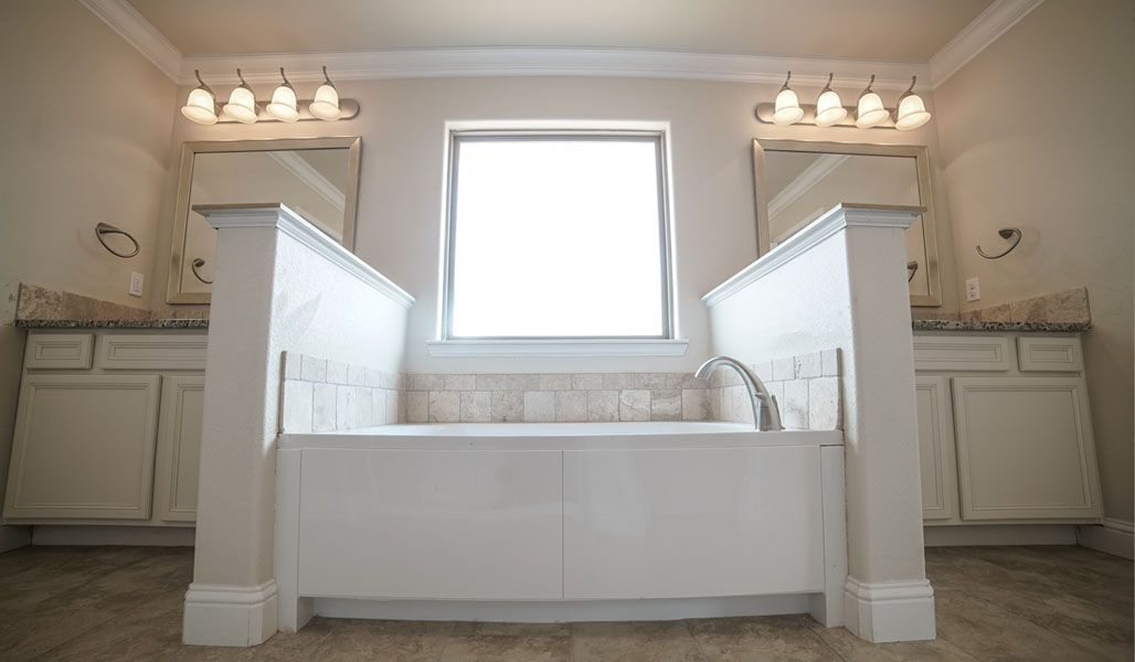 Bathroom featured in the Dorothy By Betenbough Homes in Lubbock, TX