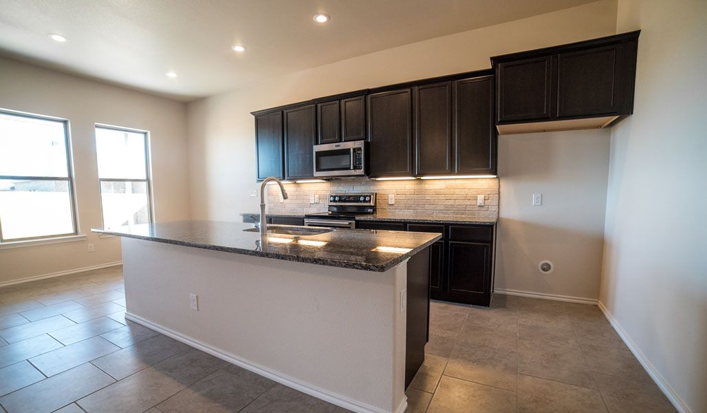 Kitchen featured in the Mary Kay By Betenbough Homes in Lubbock, TX