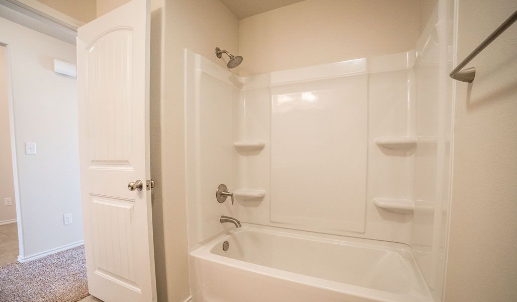 Bathroom featured in the Mary Kay By Betenbough Homes in Lubbock, TX