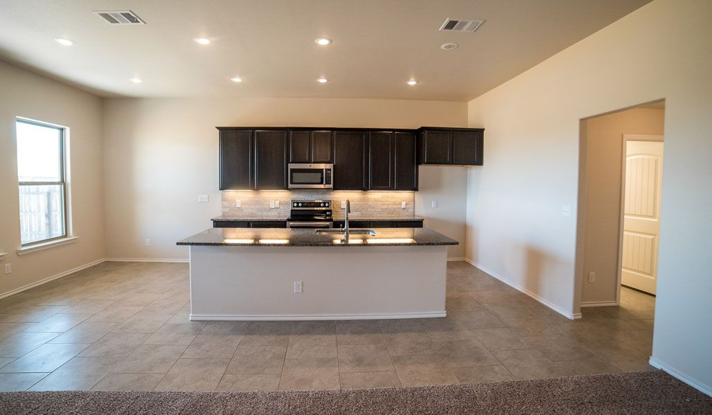 Kitchen featured in the Diane By Betenbough Homes in Lubbock, TX