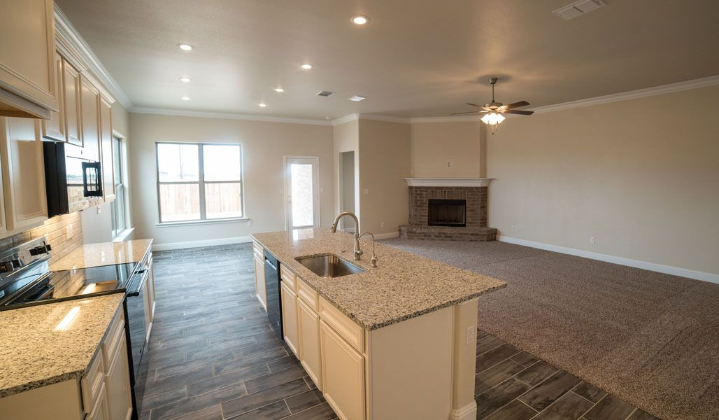 Kitchen featured in the Liliana By Betenbough Homes in Lubbock, TX