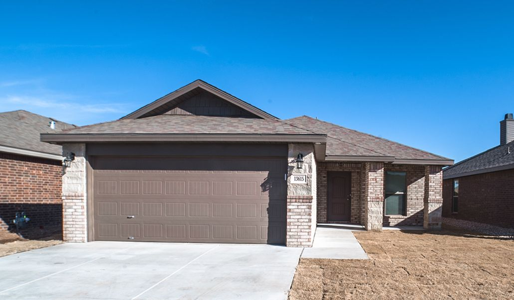 Exterior featured in the Regan By Betenbough Homes in Lubbock, TX
