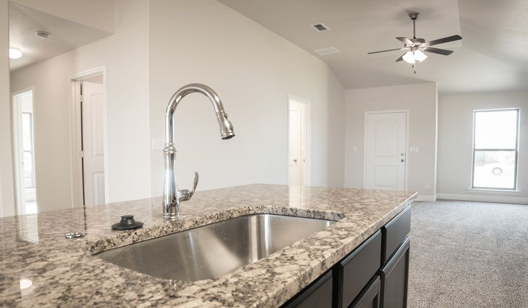 Kitchen featured in the Tiffany By Betenbough Homes in Lubbock, TX