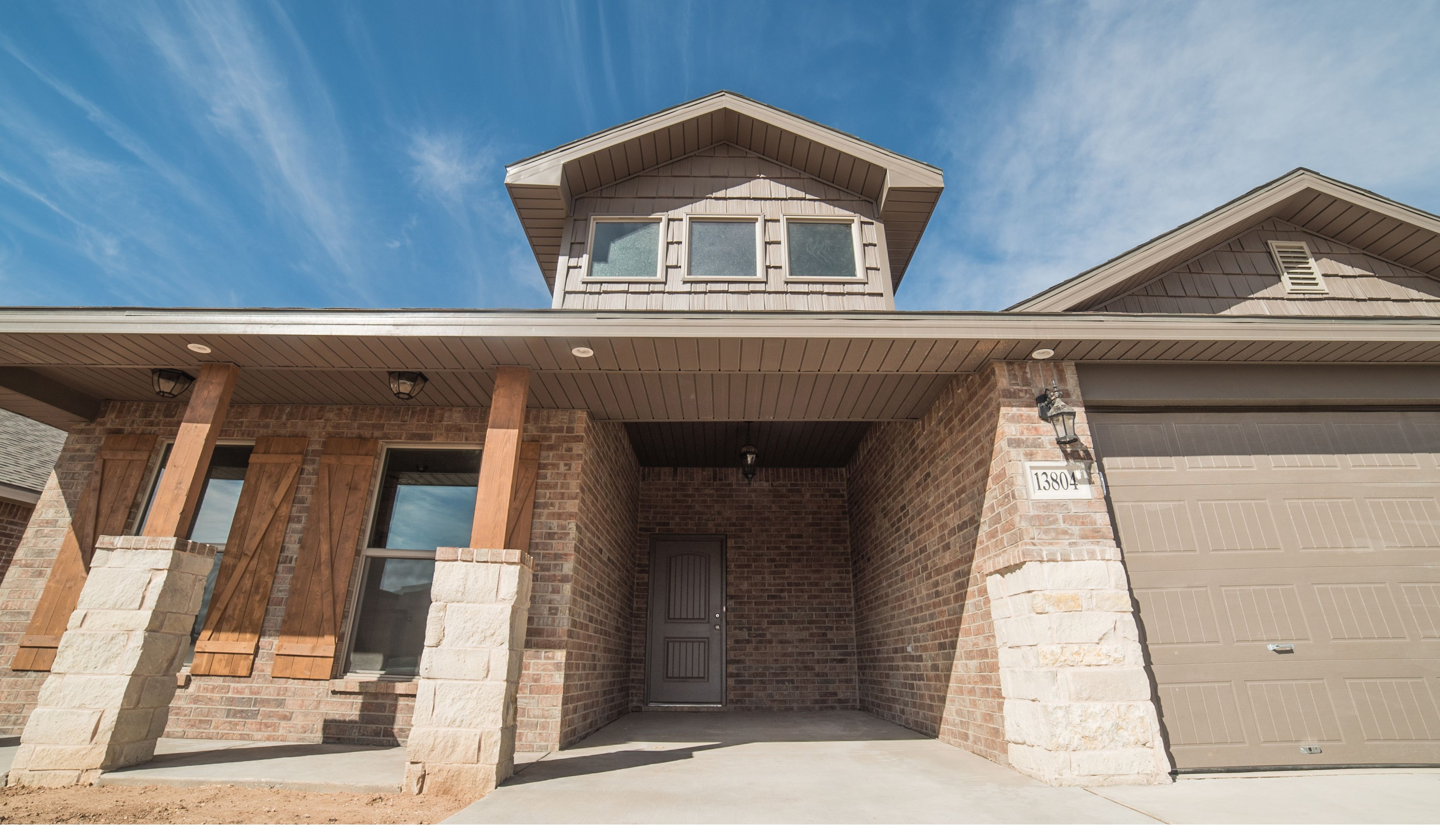Exterior featured in the Sophia By Betenbough Homes in Lubbock, TX