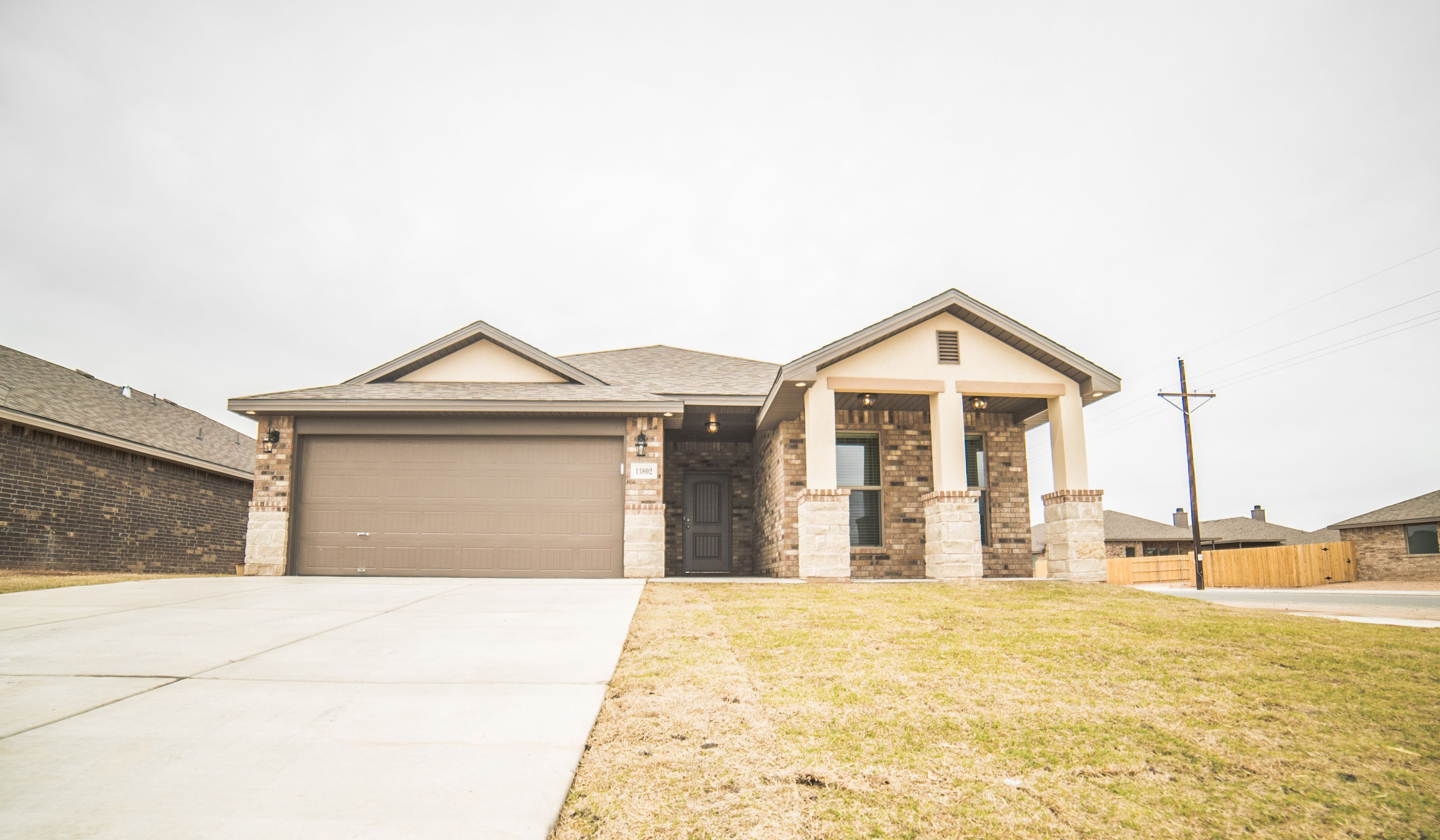 Exterior featured in the Mary Kay By Betenbough Homes in Lubbock, TX