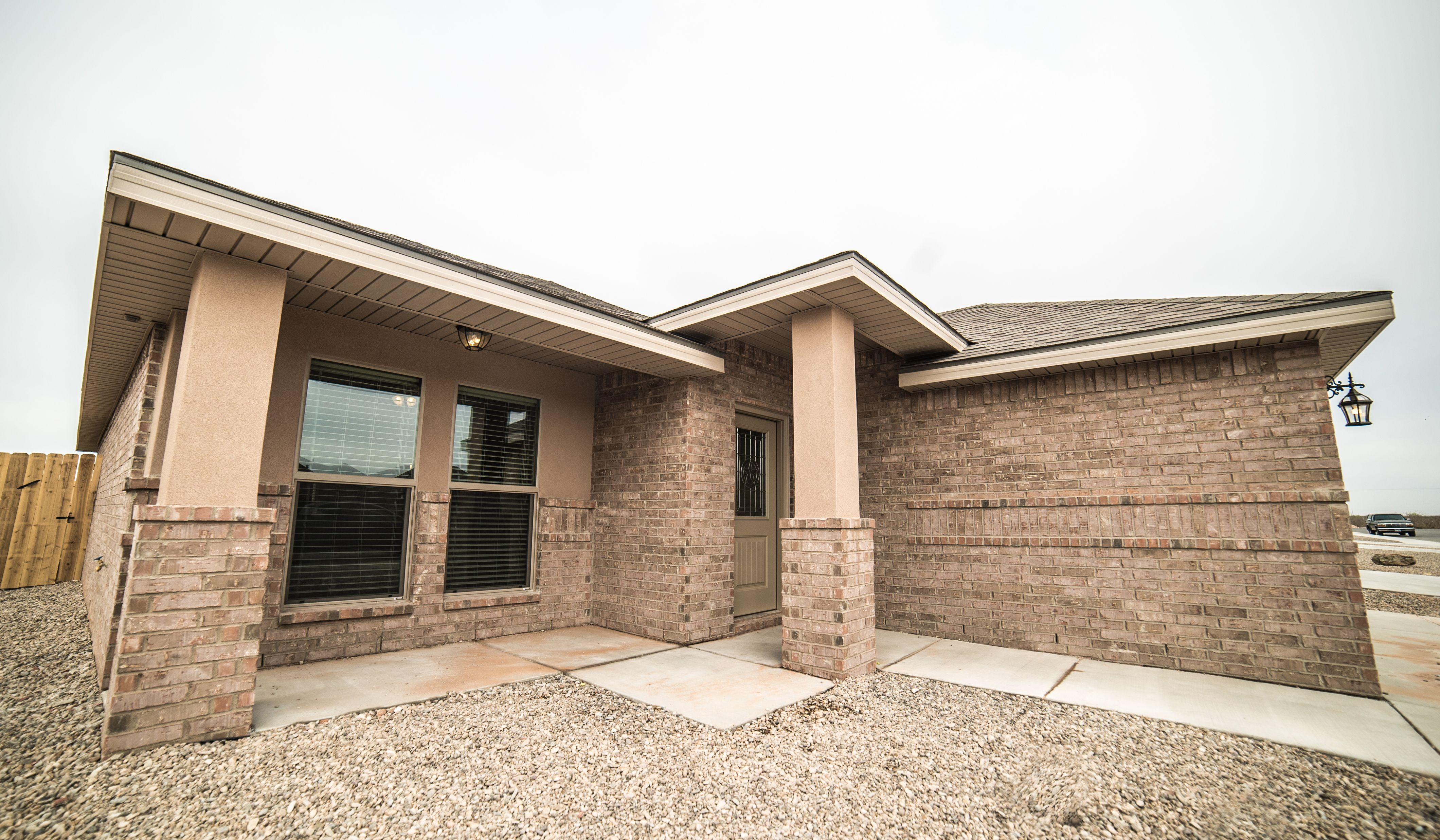 Exterior featured in the Lynn By Betenbough Homes in Lubbock, TX