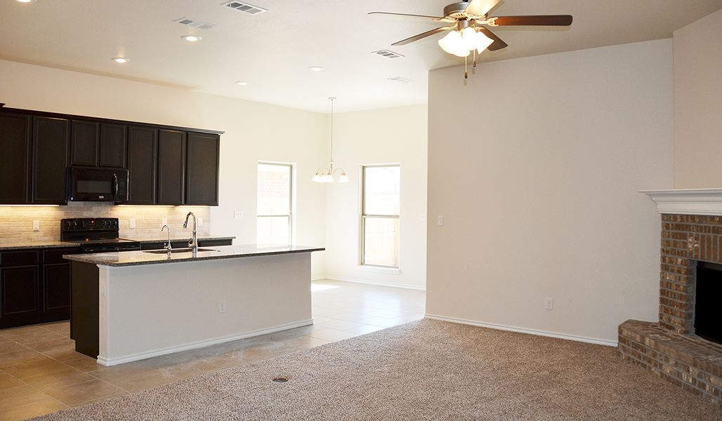 Kitchen featured in the Marie By Betenbough Homes in Lubbock, TX