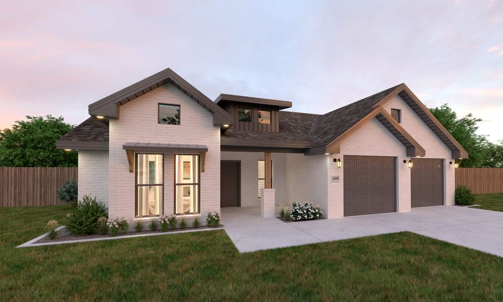 The Modern Farmhouse Front Right