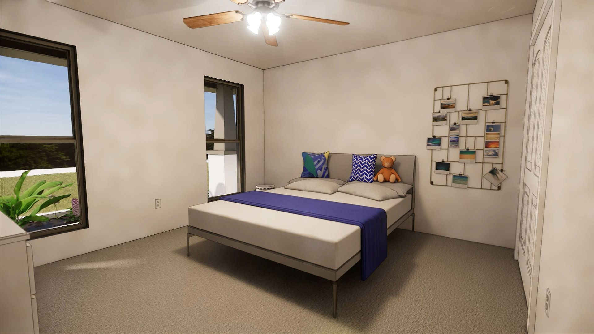 Bedroom featured in the Pamela By Betenbough Homes in Lubbock, TX