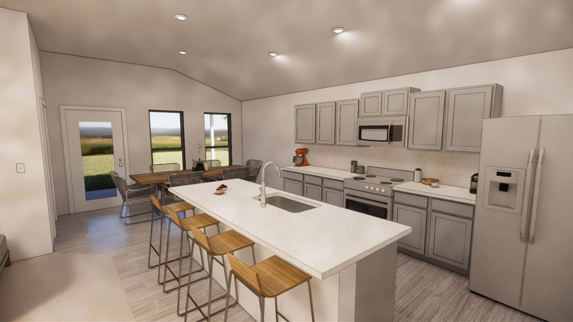 Kitchen featured in the Adalynn By Betenbough Homes in Lubbock, TX