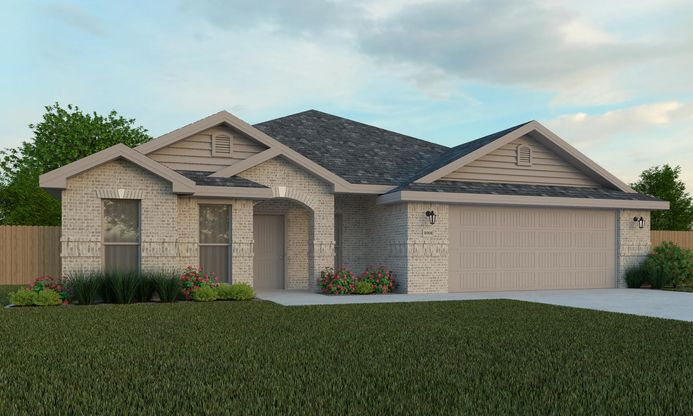 NL 2522 Brick Ranch Front Entry