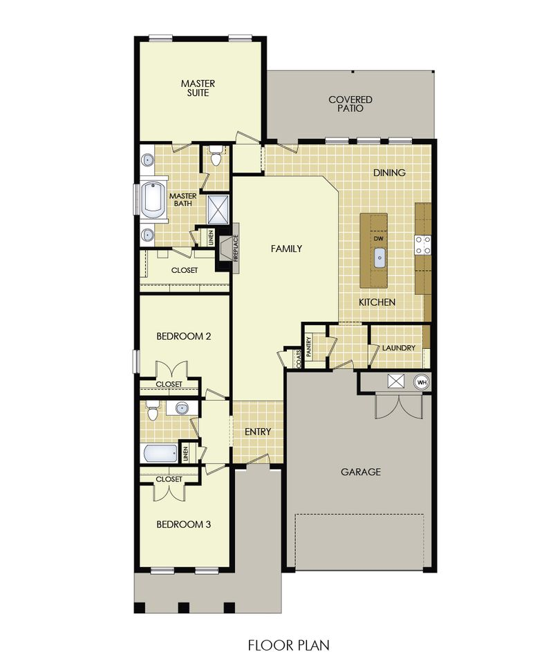 Mary Kay Floor Plan