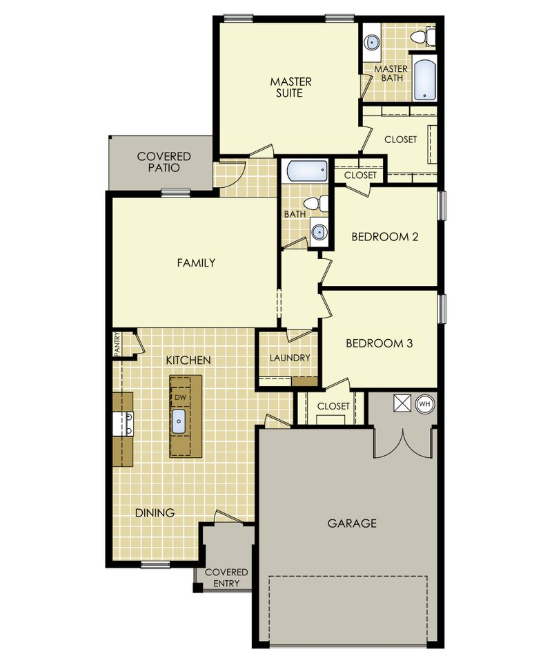 Rosemary Floor Plan