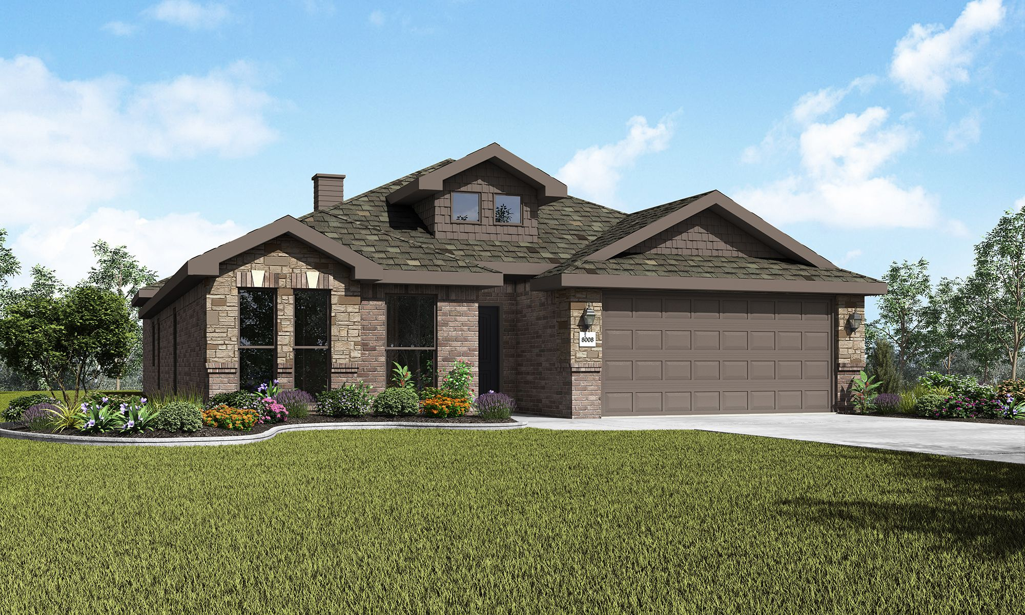 Exterior featured in the Joanna By Betenbough Homes in Midland-Odessa, TX