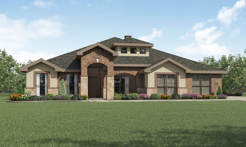 Tera home plan by betenbough homes in lone star trails for Midland home builders