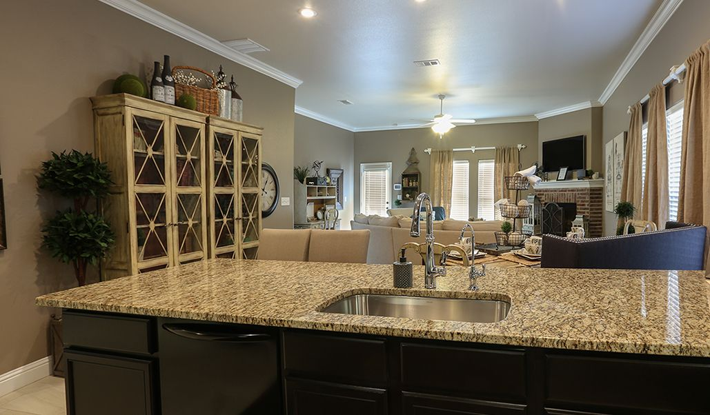 Living Area featured in the Martha By Betenbough Homes in Midland-Odessa, TX