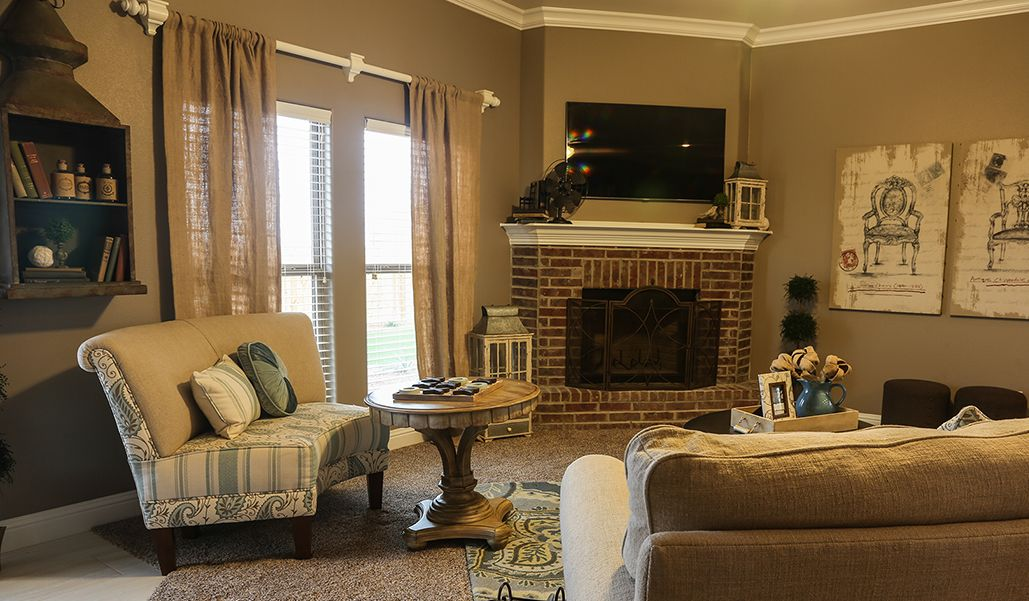 Living Area featured in the Martha By Betenbough Homes in Amarillo, TX