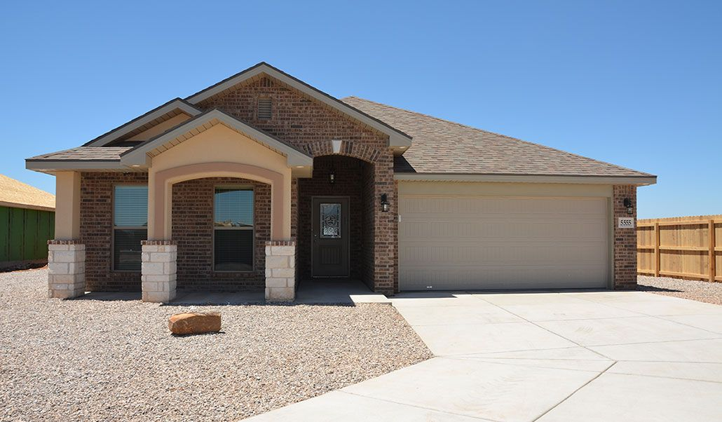 Exterior featured in the Liliana By Betenbough Homes in Midland-Odessa, TX