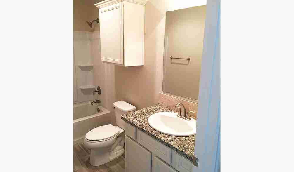Bathroom by Bedroom 1