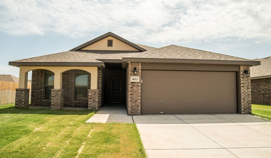 Exterior featured in the Monique By Betenbough Homes in Midland-Odessa, TX