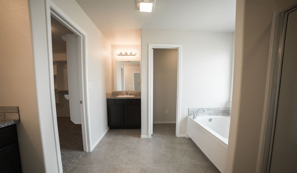 Bathroom featured in the Monique By Betenbough Homes in Midland-Odessa, TX