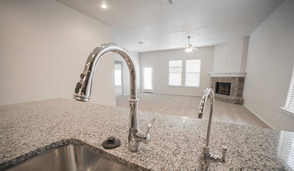 Kitchen featured in the Monique By Betenbough Homes in Midland-Odessa, TX