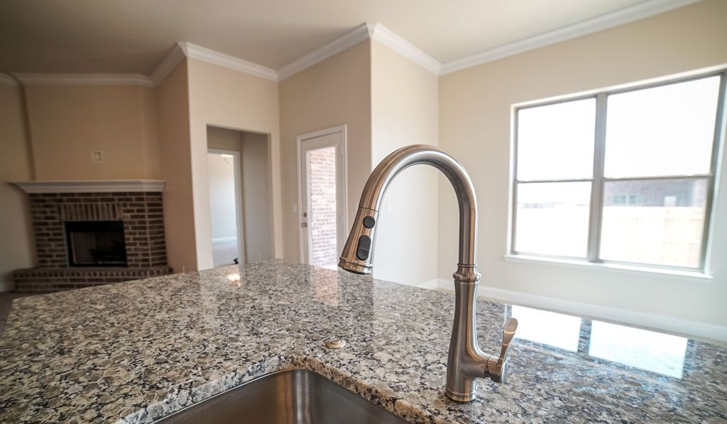 Kitchen featured in the Dorothy By Betenbough Homes in Midland-Odessa, TX