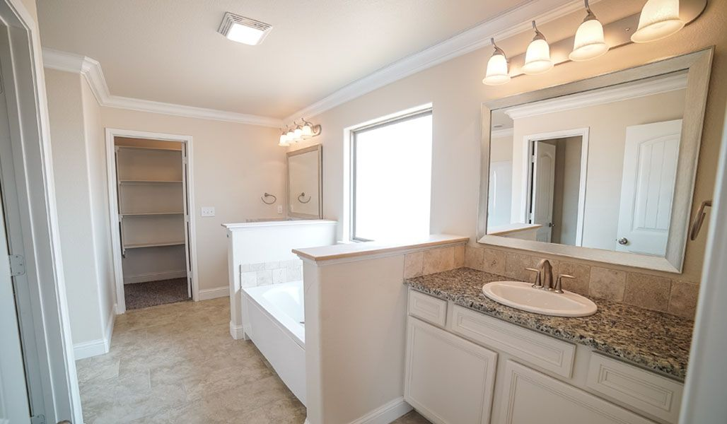 Bathroom featured in the Dorothy By Betenbough Homes in Midland-Odessa, TX