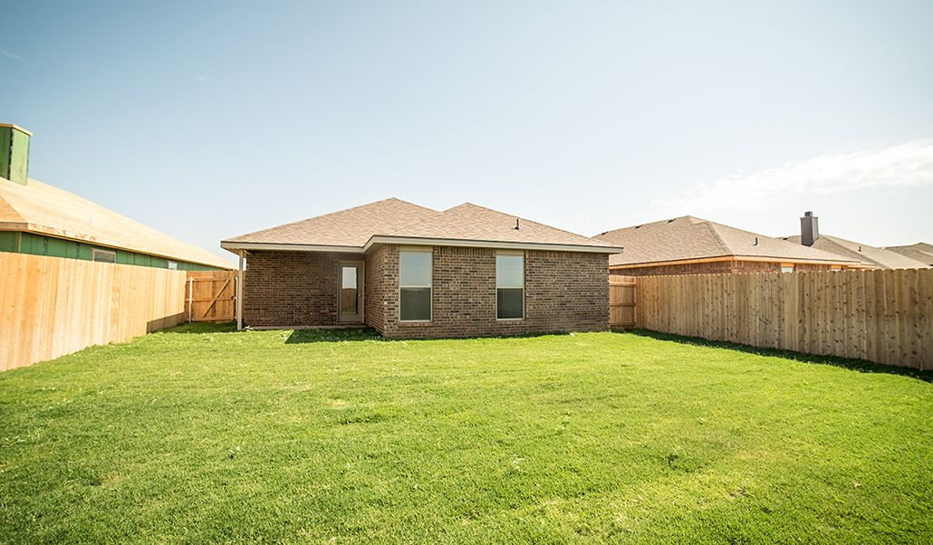 Exterior featured in the Laura By Betenbough Homes in Amarillo, TX