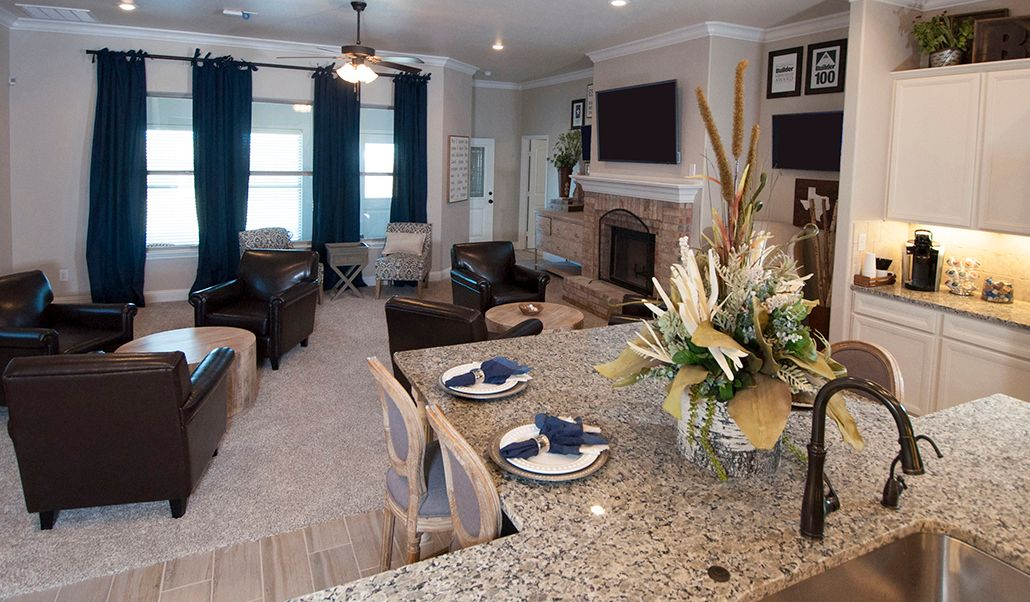 Greatroom-and-Dining-in-Tera-at-Heritage Hills-in-Amarillo
