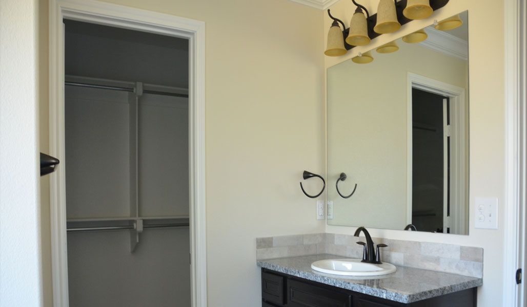 Bathroom featured in the Rosa By Betenbough Homes in Midland-Odessa, TX