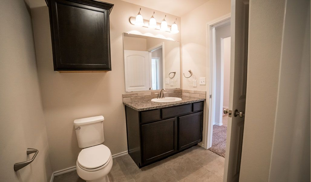 Bathroom featured in the Diane By Betenbough Homes in Amarillo, TX