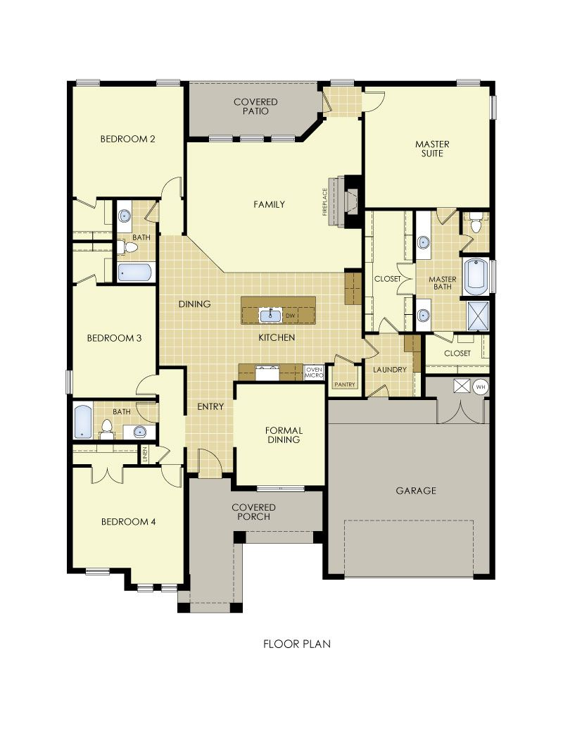 Meredith Floor Plan