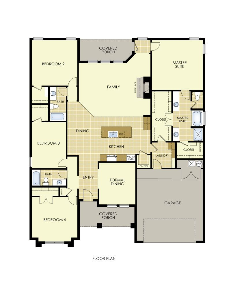 Shannon Floor Plan