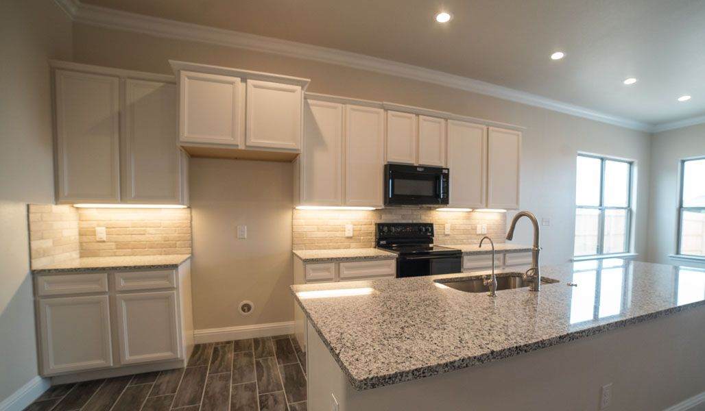 Kitchen featured in the Liliana By Betenbough Homes in Midland-Odessa, TX