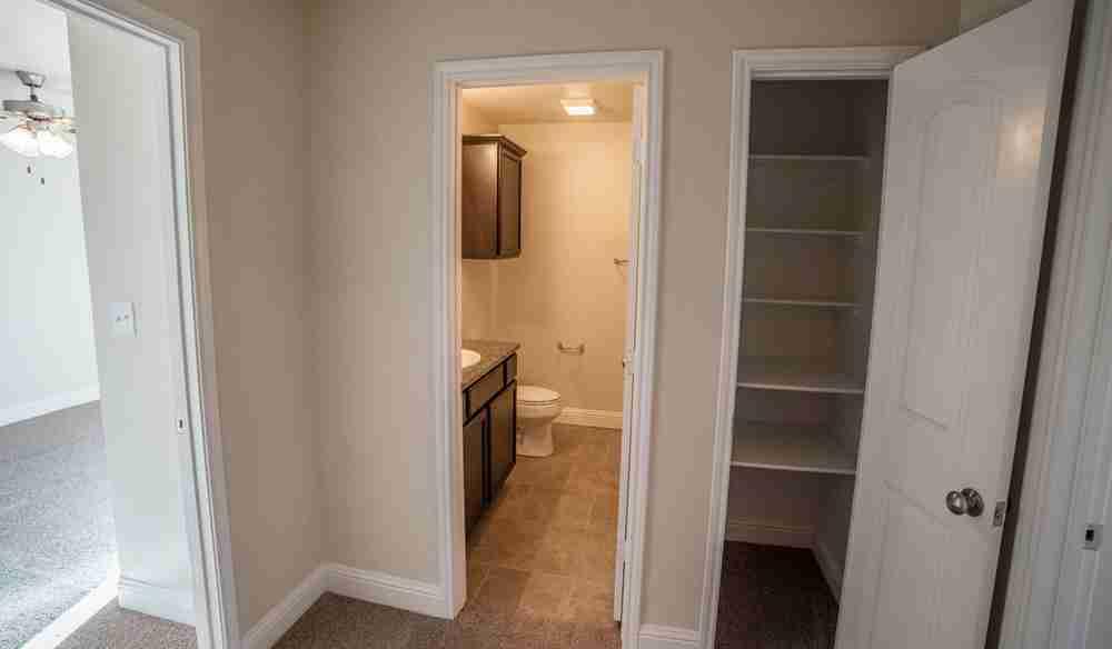 Guest Bath and Linen Closet