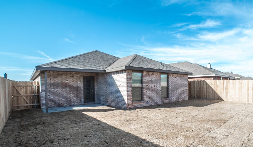 Exterior featured in the Regan By Betenbough Homes in Amarillo, TX