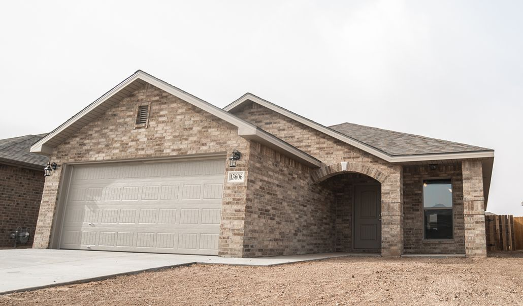 Exterior featured in the Tiffany By Betenbough Homes in Midland-Odessa, TX