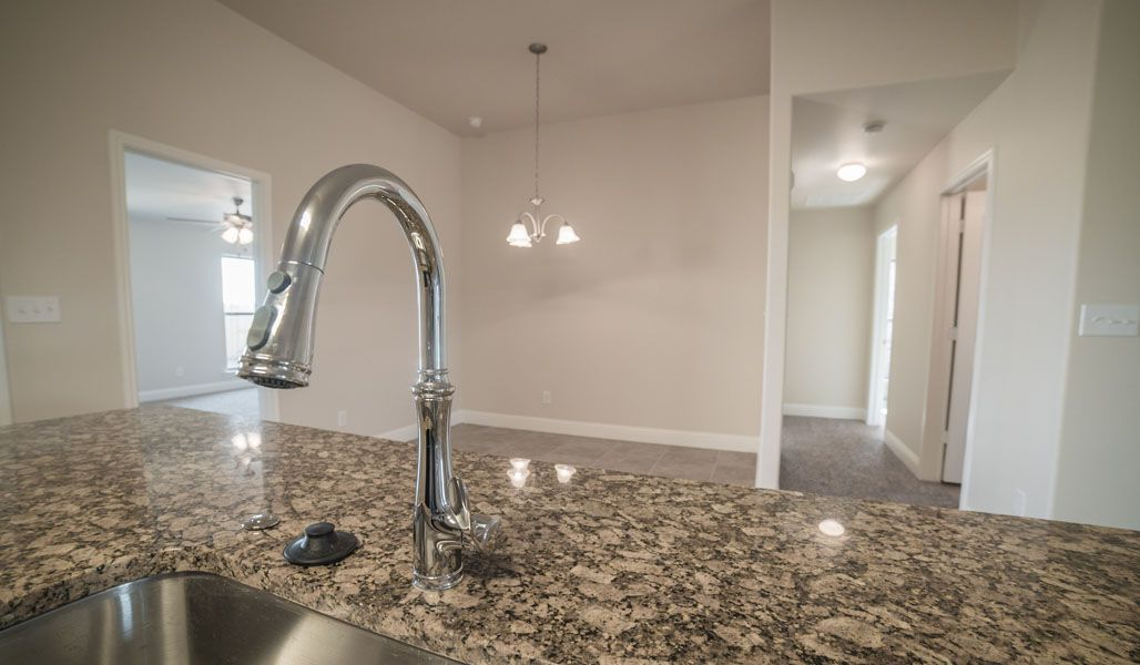 Kitchen featured in the Tiffany By Betenbough Homes in Midland-Odessa, TX