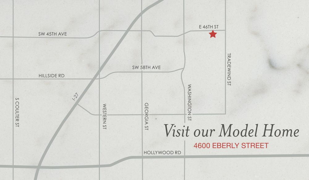 Model Home Map